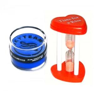 Kunststoff Werbe Stundenglas